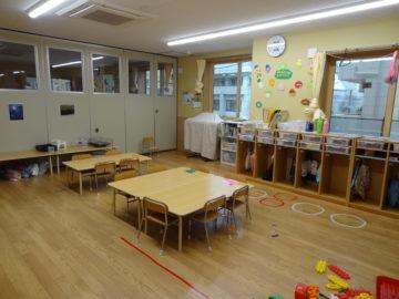ぱんだ組🐼(3歳児)のお部屋